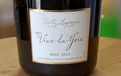 Crémant Vive la Joie Brut – Bailly Lapierre