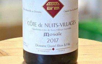 Côte de Nuits Villages Mosaïc 2017 – Daniel Rion & Fils
