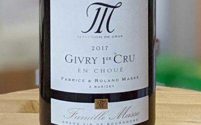 Givry 1er Cru En Choué 2017 – Domaine Masse