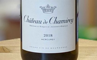 Mercurey 2018 – Château de Chamirey