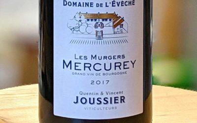 Mercurey Les Murgers 2017 – Domaine de l'Evêché