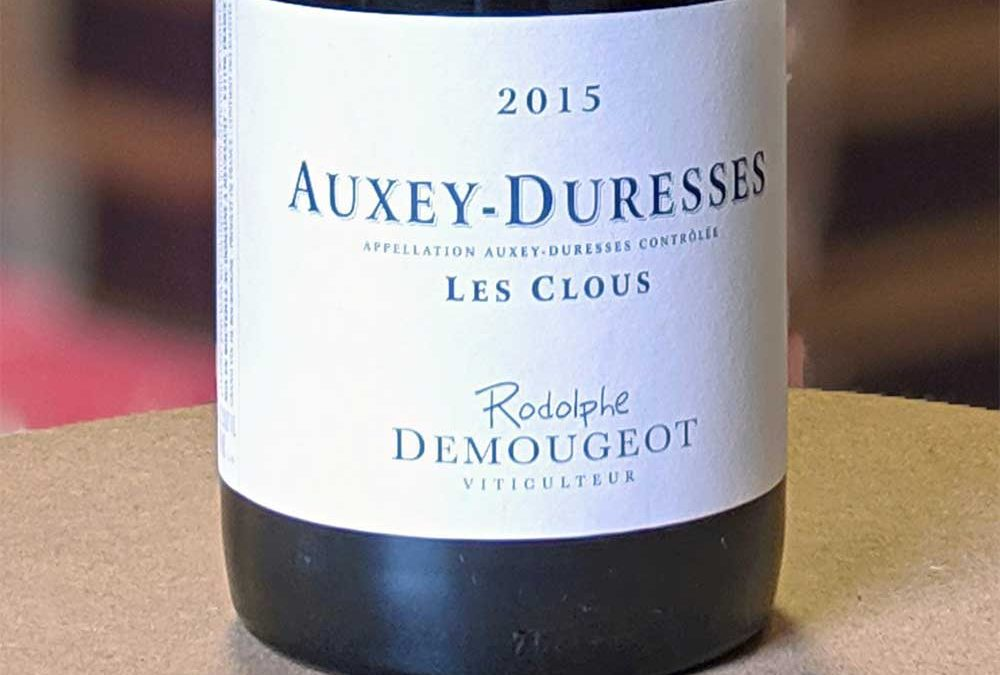 Auxey Duresses 2017 – Rodolphe Demougeot
