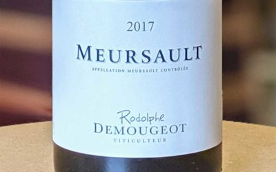 Meursault 2017 - Rodolphe Demougeot