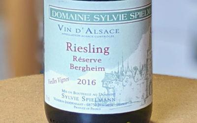 Riesling Réserve 2016 – Domaine Sylvie Spielmann