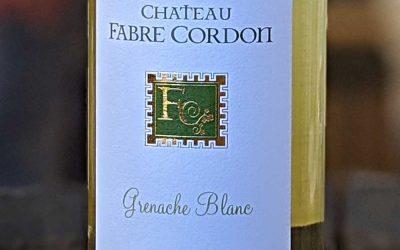 Grenache blanc 2018 – Château Fabre Cordon