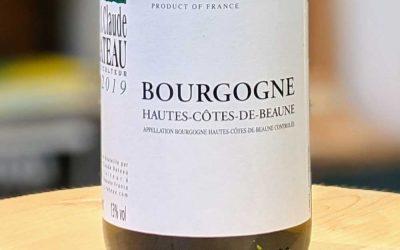 Hautes-Côtes-de-Beaune 2019 – J.Claude Rateau