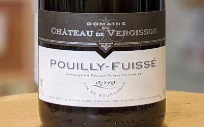 Pouilly-Fuissé 2019 – Château de Vergisson